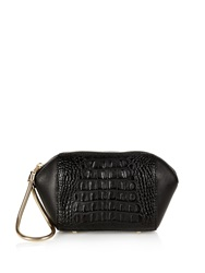 Alexander Wang Chastity Croc Effect Leather Clutch