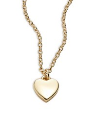 Ted Baker Hara Tiny Heart Pendant Necklace Gold