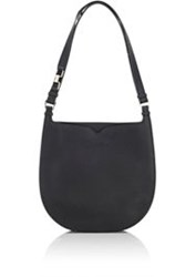 Valextra Weekend Small Hobo Black