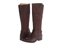 Frye Melissa Scrunch Dark Brown Antique Soft Full Grain Women's Pull On Boots