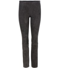 Stouls Mickael Suede Leggings Grey