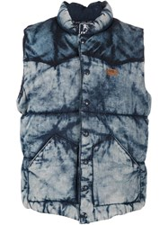 Prps Faded Denim Gilet Blue