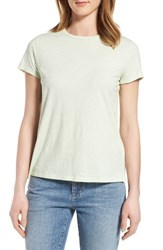 Eileen Fisher Women's Organic Cotton Tee Celadon