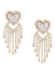 Shourouk Chandelier Heart Earrings 60