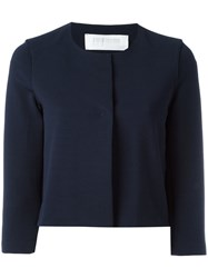 Harris Wharf London Fitted Blazer Blue