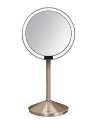 Simplehuman Rosetone Sensor Mirror With Travel Case 5 In. No Color