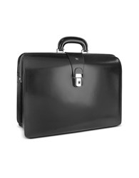 Pratesi Briefcases Men's Leather Doctor Bag Briefcase W Interior Lighting