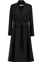 Chalayan Belted Twill Coat Black