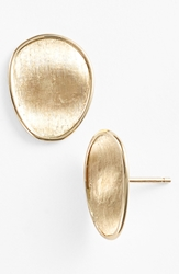 Marco Bicego 'Lunaria' Stud Earrings Yellow Gold