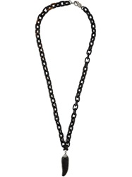 Loree Rodkin Diamond Feather Chain Necklace