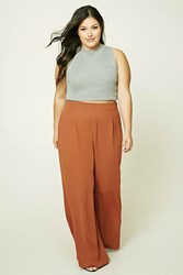 Forever 21 Plus Size Palazzo Pants Brick