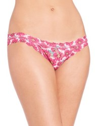Hanky Panky Allure Daisy Brazilian Bikini Brief Multi
