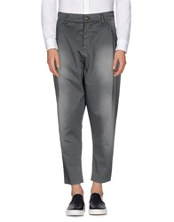 Minimal Trousers Casual Trousers Men Grey