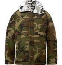 Vetements Canada Goose Reversible Shell Down Jacket Green