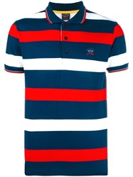 Paul And Shark Striped Polo Shirt