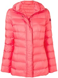 Peuterey Flagstaff Puffer Jacket Pink And Purple