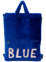 Liska Blue Backpack
