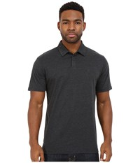 Rvca Sure Thing Ii Polo Charcoal Heather Men's Short Sleeve Knit Gray