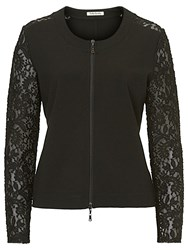 Betty Barclay Lace Sleeved Jacket Black