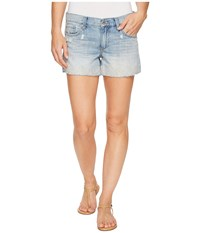Lucky Brand The Cut Off Shorts In Pacific Blue Pacific Blue Women's Shorts