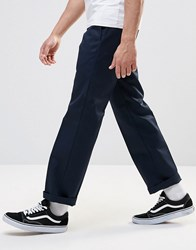 Dickies 873 Work Pant Chino In Straight Fit Navy