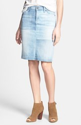 Women's Citizens Of Humanity 'Premium Vintage' Denim Pencil Skirt Bauhaus