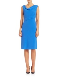 Elie Tahari Maize Cowlneck Dress Oasis