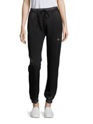Feel The Piece Rogue Drawstring Pants Black