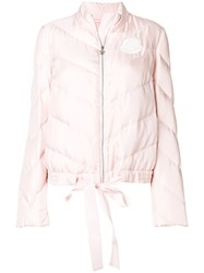 Moncler Gamme Rouge Pirouette Jacket Pink And Purple