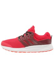 Adidas Performance Galaxy 3 Cushioned Running Shoes Solar Red Core Black White