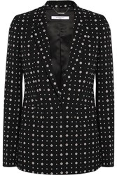 Givenchy Blazer In Printed Stretch Crepe Black