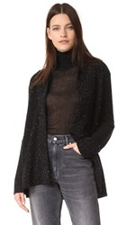 Baja East Long Sleeve Cardigan Galaxy