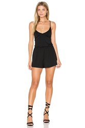 Rachel Pally Arisa Playsuit Black