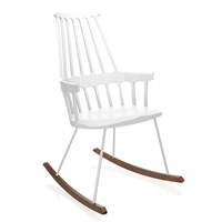 Kartell Comback Rocking Chair White