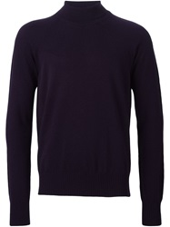 Maison Martin Margiela Maison Margiela Turtle Neck Sweater Pink And Purple