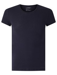 J. Lindeberg Cody Cotton T Shirt Navy