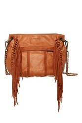 Liebeskind Danielle Leather Shoulder Bag Brown