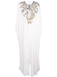 Marchesa Embroidered Kaftan Jacket 60