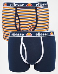 Ellesse 2 Pack Trunks Multi