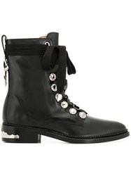 Toga Pulla Lace Up Boots Black