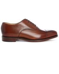 Loake Brown Aldwych Tip Toe Leather Brogues
