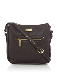Ollie And Nic Annie Small Hobo Bag Black