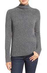 Madewell Women's Rolled Turtleneck Heather Flannel