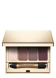 Clarins 4 Colour Eyeshadow Palette 02 Rosewood 01 Taupe 03 Brown