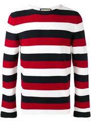 Gucci Snake Embellished Sweater Black