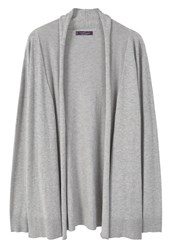 Mango Violeta By Cardigan Medium Heather Grey Metallic Grey