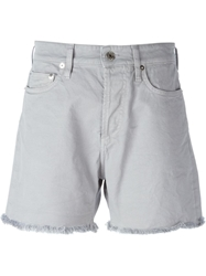Mauro Grifoni Raw Edge Shorts