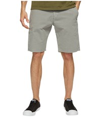 Lucky Brand Rip Stop Utility Shorts Frost Gray Men's Shorts
