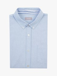Jaeger Cotton Oxford Shirt Light Blue