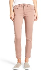 Wit And Wisdom Women's Ab Solution Stretch Twill Skinny Pants Cameo